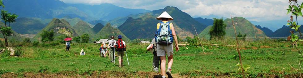 Randonnee et trekking au Vietnam