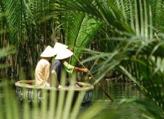 trek dans la montagne au Nord Vietnam