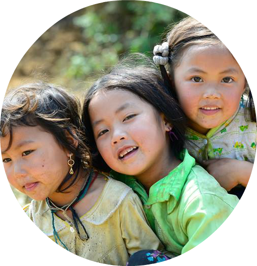 enfants ethniques vietnam