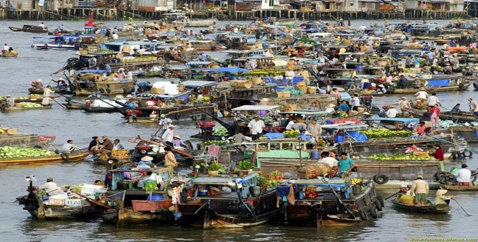 voyage dans le delta du mekong 1