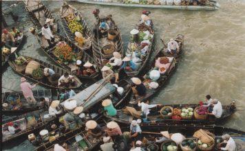 voyage dans le delta du mekong
