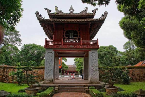 le temple de la Littérature Hanoi 1