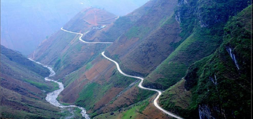cols de montagne au Nord du Vietnamcols de montagne au Nord du Vietnam
