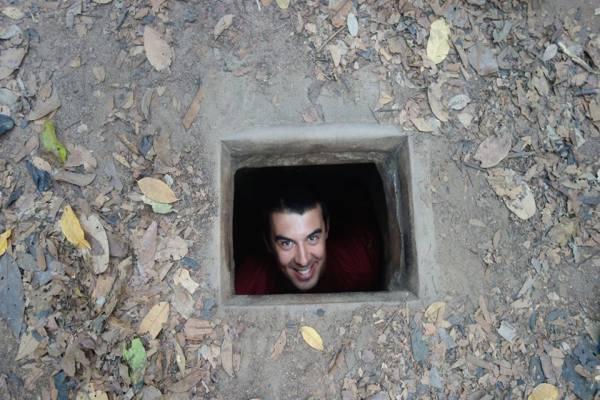 Tunnels Cu Chi Vietnam 2