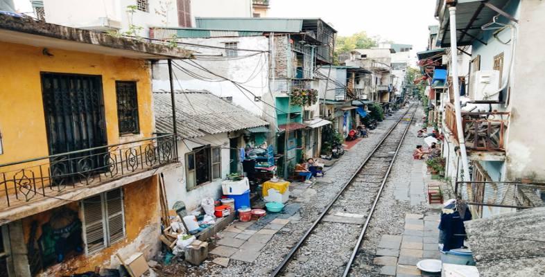 Rue du train de Hanoi 3