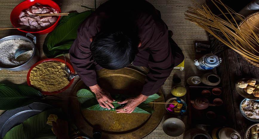 Banh Chung du Tet 1