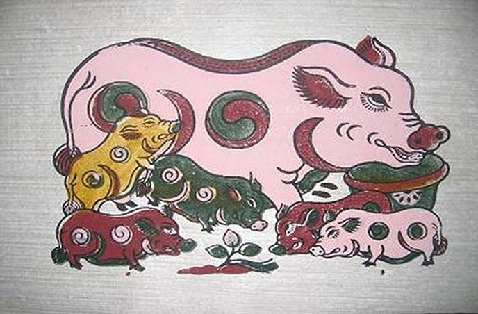 Le cochon dans la culture Vietnam
