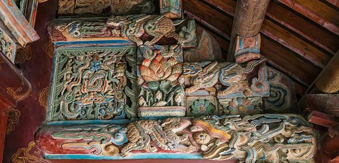 Temples de Dinh et Le