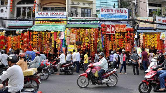 Les 4 grands marchés Saigon 2