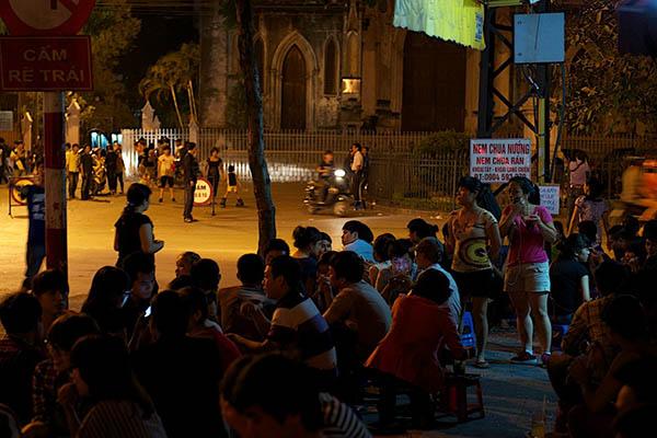 3 rues connues du vieux quartier Hanoi 1