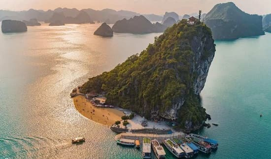 Incontournables de la baie Ha long